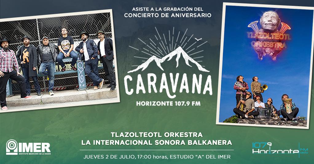 Concierto de aniversario de Caravana