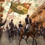Entrada del Ejército Trigarante a la Ciudad de México el 27 de septiembre de 1821