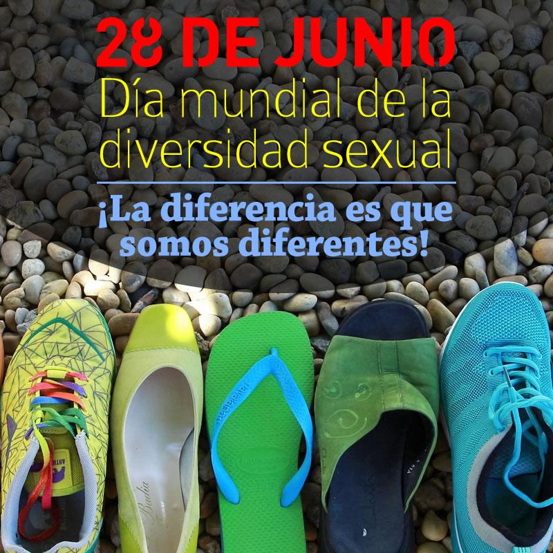 Campaña: 28 de Junio, Día Mundial de la Diversidad Sexual