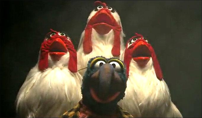 Parodia realizada por la serie/personajes The Muppets