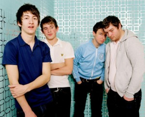 """2005 --- """"Portrait of indie rock band Arctic Monkeys. Photographed in Los Angeles. November 2005. © Pamela Littky / Retna Ltd. *HIGHER RATES APPLY. *NO *** No USA ***"""" --- Image by © Pamela Littky/Retna Ltd./Corbis"""