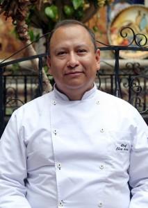 Chef Elías Salas, de la CANIRAC Xochimilco.