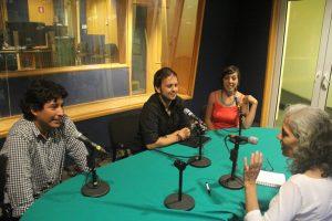 Benito Cortés Padua de Cojolites, Emilio Bossano y Marisol Mandujano de Macuiles
