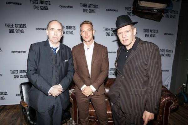 Mick Jones, Diplo y Paul Simonon