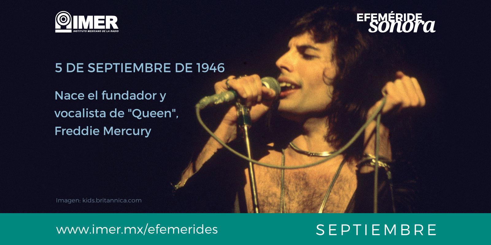 Nace Freddie Mercury
