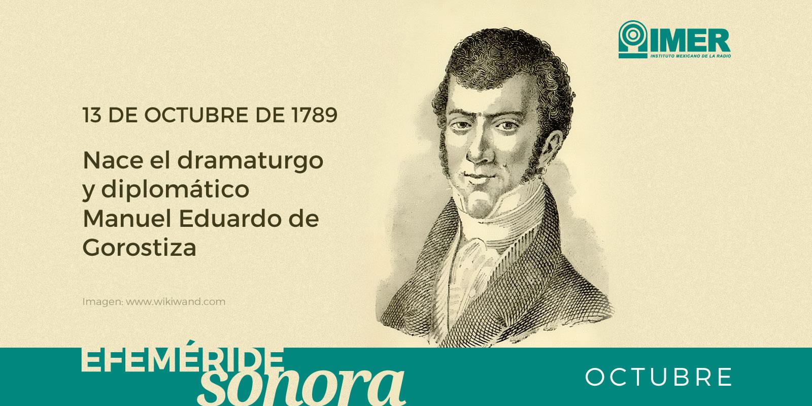 13 de octubre de 1789, nace el dramaturgo y diplomático ...