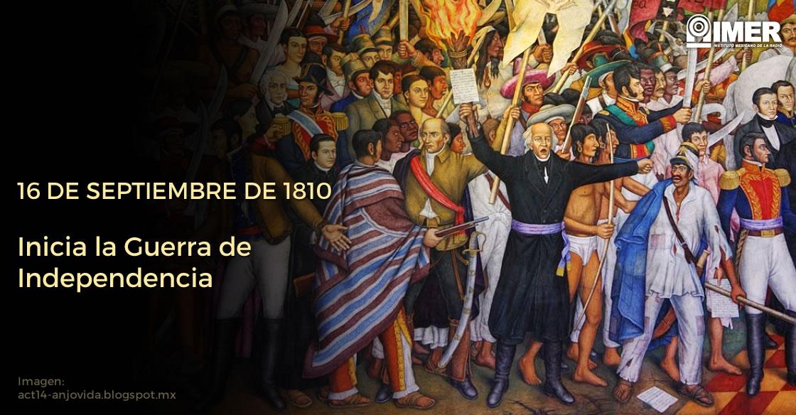 16 Septiembre 1810 Inicia La Guerra De Independencia