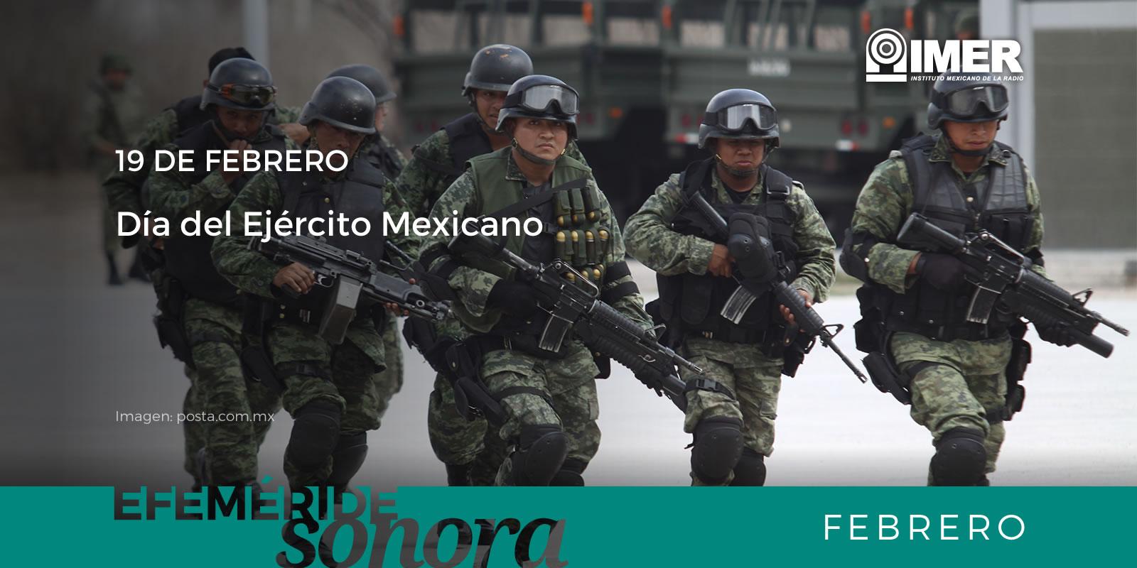 19 De Febrero Dia Del Ejercito Mexicano Imer