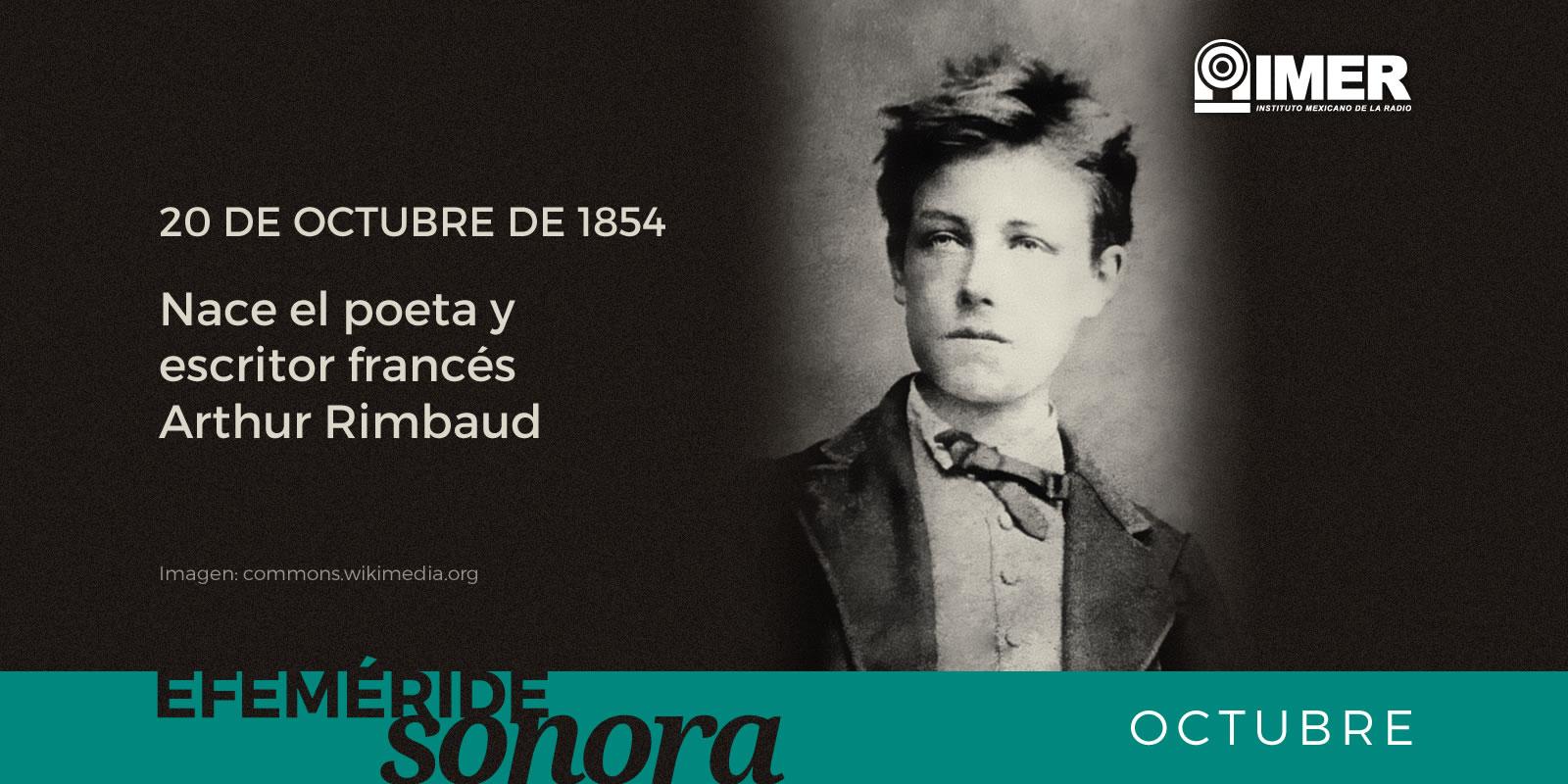20 De Octubre De 1854 Nace El Poeta Y Escritor Frances Arthur