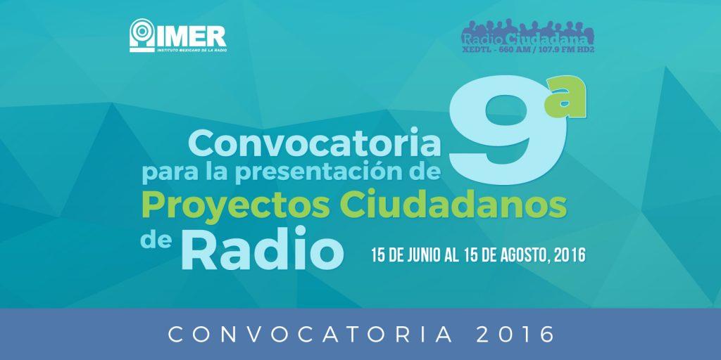 9a Convocatoria Radio Ciudadana