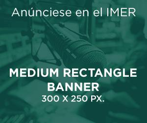 Medium rectangle banner, 300 x 250 px.