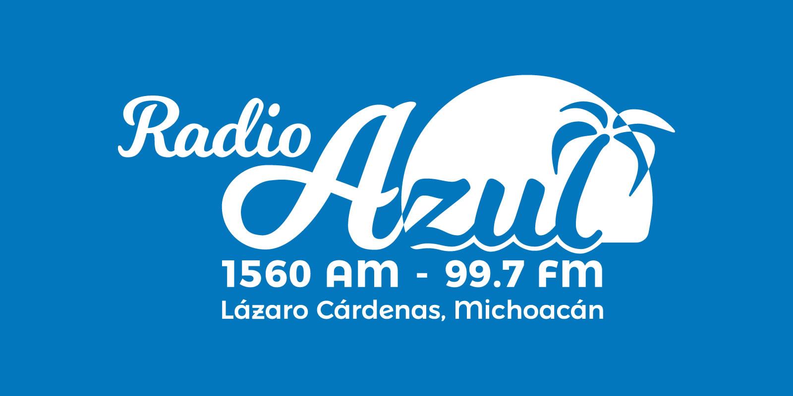 Radio Azul, 1560 AM, Lazaro Cardenas, Michoacan
