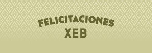 Felicitaciones XEB